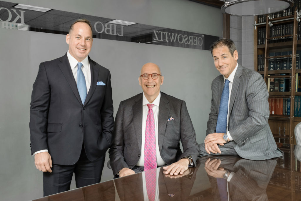 Best Lawyers: Edward Gersowitz, Jeff Korek and Michael Fruhling - Partners